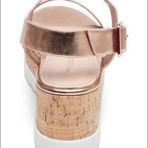 6fa38f9fc34 Madden Girl Shoes -  Madden Girl  Sugar Rose Gold Flatform Sandals